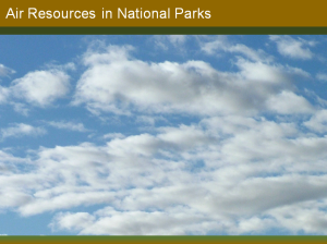 Air Resources in National Parks cover page image
